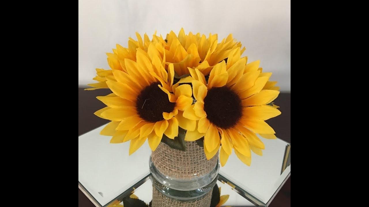 TjMax fall flower arrangement DIY