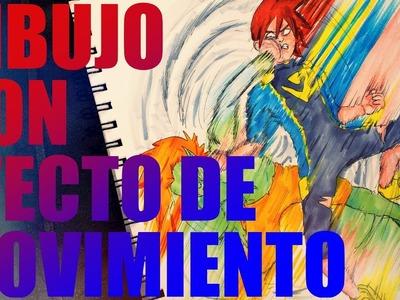 Tutorial| Dibujos con MOVIMIENTO!! (Cómic y Manga). Robe Zerón