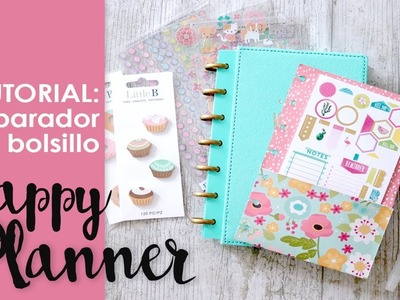 Tutorial: Separador con Bolsillo para Happy Planner