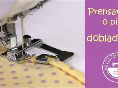 3 prensatelas o pies para coser dobladillos
