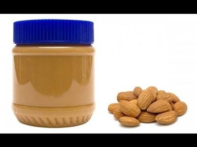 Almendras -mantequilla - mantequilla de almendras - how to make almond butter