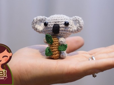 Amigurumi | como hacer un Koala en crochet | Bibi Crochet