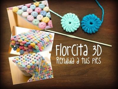 Aplique florcita 3D | Super fácil!