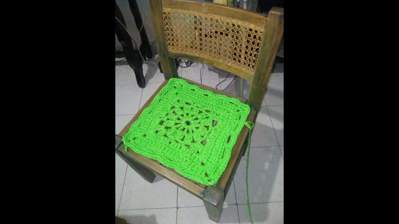 Cojin para silla de trapillo