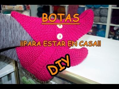 DIY. BOTAS ¡PARA ESTAR EN CASA!