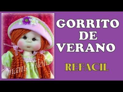 GORRO DE MUÑECA SUPER FACIL , video -289