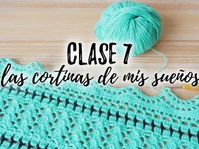 LAS CORTINAS DE MIS SUEÑOS : CLASE 7 | Puntilla o Borde de Encaje (parte 1)