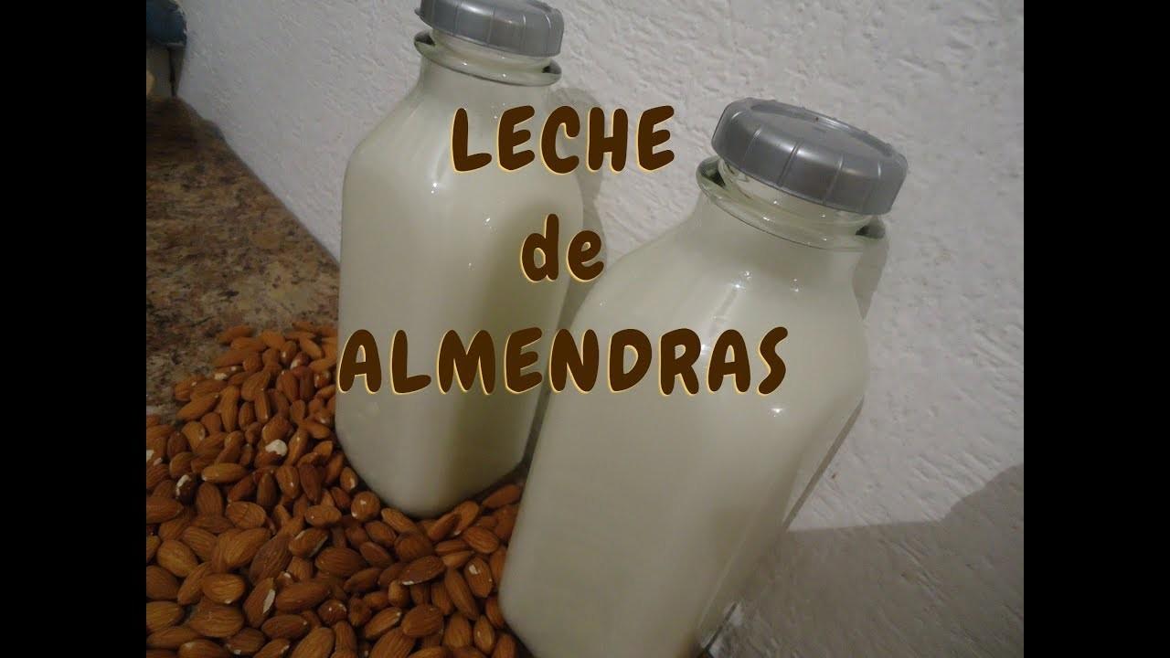 LECHE DE ALMENDRAS - PURA Y NATURAL - Lorena Lara