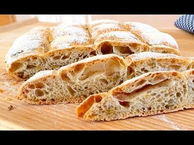 Pan de aceitunas y orégano - ¡Riquísimo y esponjoso!