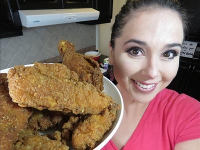 POLLO ESTILO KFC Y ENSALADA KFC