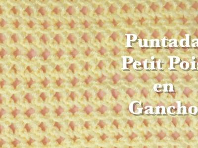 """Puntada """"Petit Pois"""" en gancho facil y rapida para principiantes #84"""