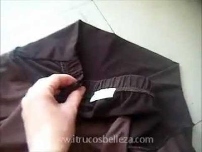 Transformar falda en vestido parte 1