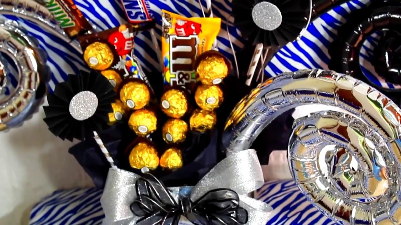 Arreglo de chocolates para graduación ????SUPERMANUALIDADES????