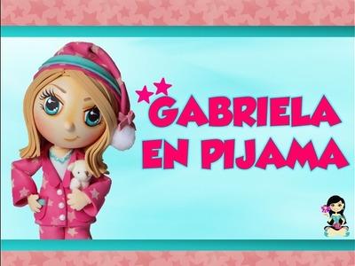 """♥ """"Arte Creaciones Magpy""""  Niña en pijama *GABRIELA*"""
