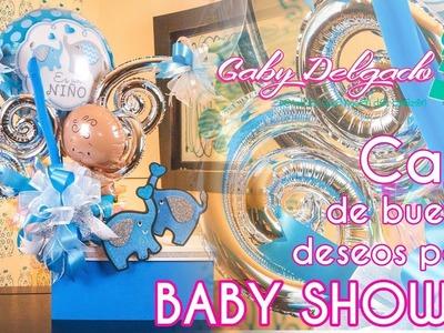 Caja de buenos deseos para Baby Shower
