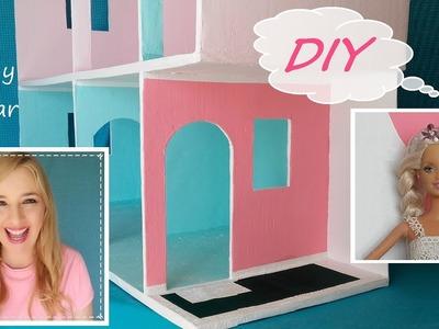 Casa de muñecas de cartón.  fácil Parte 5 La entrada