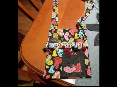 Como hacer bolso casual, aprende con lola.