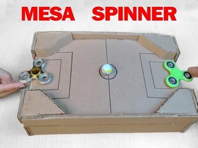 Como hacer Mesa de Juego con FIDGET SPINNER