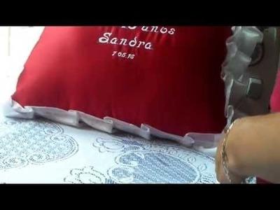 Como hacer un cojin de xv años