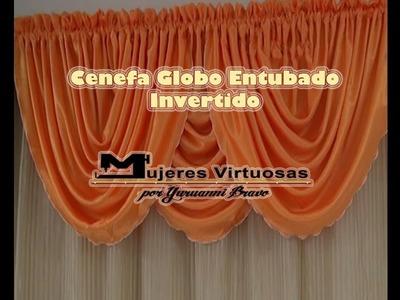 Como hacer una Cenefa Globo entubado Invertido parte 3 de 7 por Yuruanni Bravo