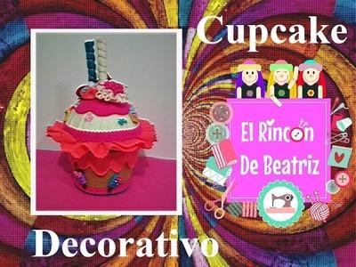 Cupcake Decorativo - Parte 3