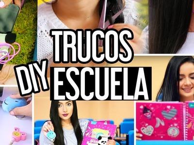 DECORA ÚTILES ESCOLARES Y TRUCOS PARA CLASE.  life hacks para la escuela ♥ - Nelita
