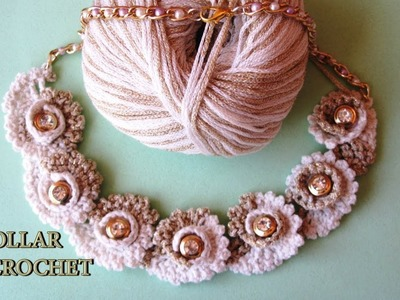 DIY - Collar de crochet DIY - Crochet Necklace
