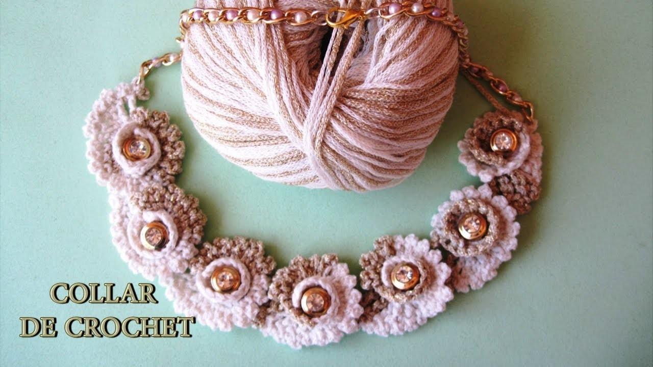 DIY - Collar de crochet DIY - Crochet Necklace