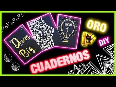 DIY CUADERNOS BRILLANTES - Regreso A Clases KD