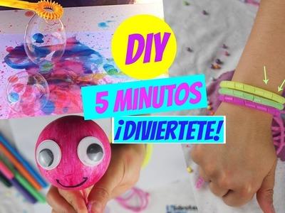 DIY en 5 MINUTOS!! COSAS PARA HACER SI ESTAS ABURRIDO!! IDEAS FÁCILES Y DIVERTIDAS
