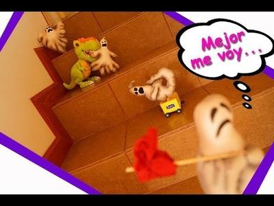 DIY fantasma asustado - Decoración  Halloween - Scared Ghost