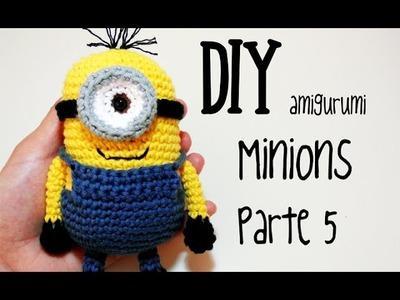 DIY Minions Parte 5 amigurumi crochet.ganchillo (tutorial)