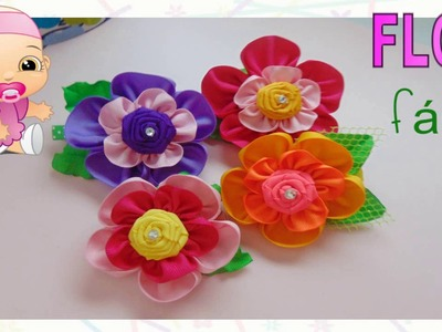 FLOR FACIL de 5 Petalos. TUTORIAL
