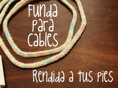 Funda para cable | Crochet