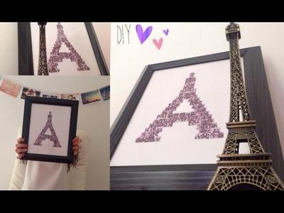 Idea para decorar tu habitación I inspirada en la torre eiffel I DIY