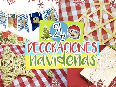 ¡DECORACIONES DE NAVIDAD DIY! ft. Maria Fernanda Mv   Paulettee