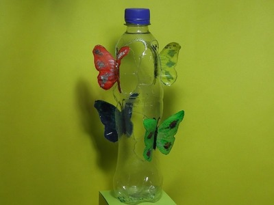 MARIPOSAS  hechas con botellas de plástico y con Pintura Acrilica  Ƹ̴Ӂ̴ƷƸ̴Ӂ̴ƷƸ̴Ӂ̴ƷƸ̴Ӂ̴Ʒ