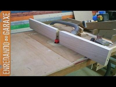 Mejora de la guía lateral de la mesa fresadora