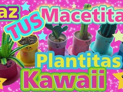 PLANTAS y MACETAS KAWAII Cajas de regalo ANILLOS AMISTAD Tutorial Inerya viris