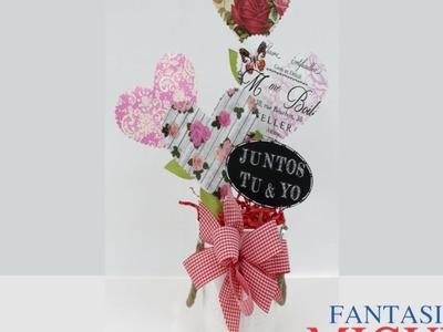 Regalo Con Corazones Para San Valentín