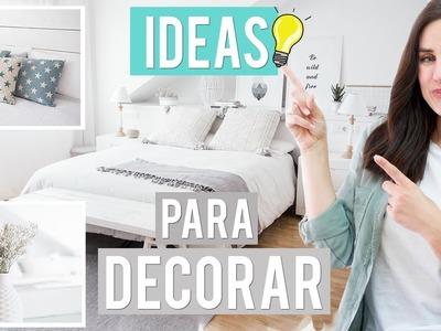 Trucos e ideas para decorar tu habitación | Patry Jordán