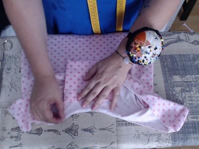 #Tutorial: coser una bolsa para compra plegable (fácil)