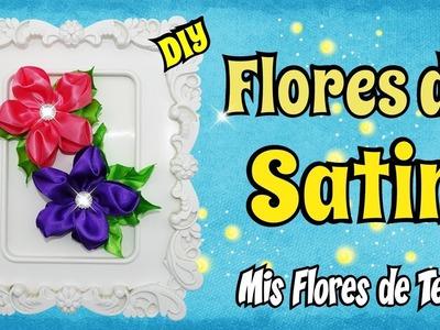 Tutorial Flor de Tela para Prendedores Diademas muy facil de hacer DIY