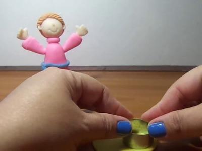2 Parte de Divino Niño en Masa Flexible.