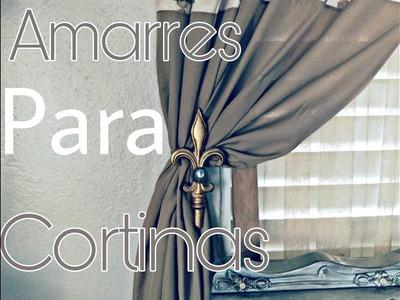 Amarre para cortinas decorativas, A lo que vinimos