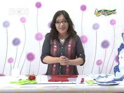 Bota navideña paso a paso - Yasna Pino - Casa Puchinni