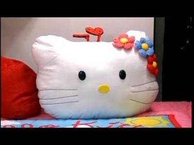 Cojin de ver television de Hello Kitty 3.5