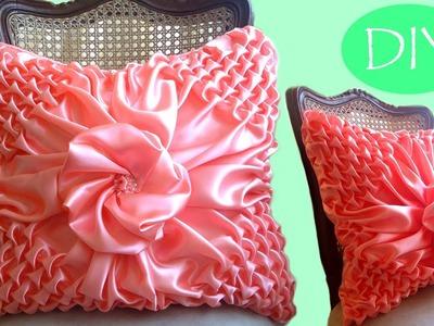 ????Cojín drapeado paso a paso # 3. Draped cushions DIY. Almofada em Capitone.