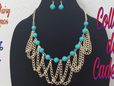 Collar de Cadenas DIY