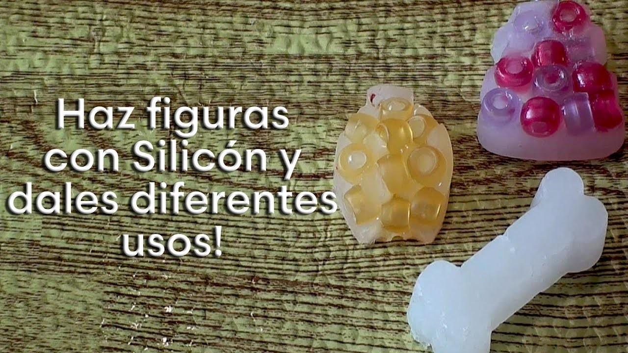 Como hacer figuras detalladas con silicon y que hacer con ellas